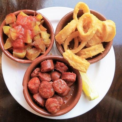 Spanish tapas catering